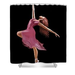 The Dance Shower Curtain