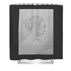 The Dancer Shower Curtain