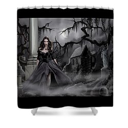 The Dark Caster Comes Shower Curtain