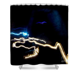 The Dark Cave Shower Curtain