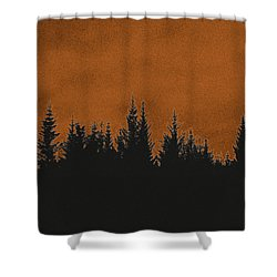 The Dawn Shower Curtain