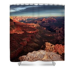 The Dawn Of A New Day Shower Curtain
