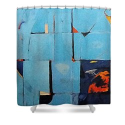 The Day Dispatches The Night Shower Curtain