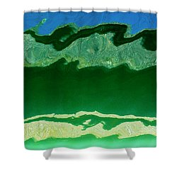 Shower Curtain featuring the photograph The Deep End by Wendy Wilton