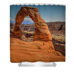 The Delicate Arch Shower Curtain