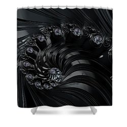 The Depths Shower Curtain