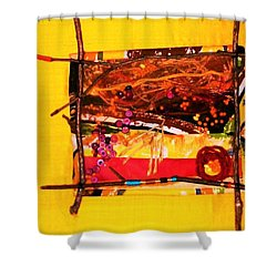 The Desert Is No Place For Chickens Shower Curtain