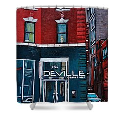 The Deville Shower Curtain