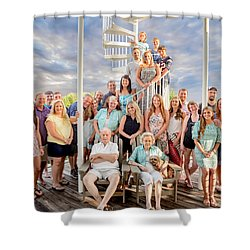 The Dezzutti Family Shower Curtain