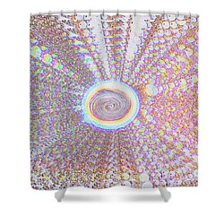 The Divine Light   Shower Curtain