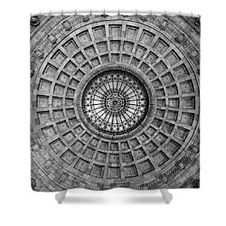 The Dome Bw  Shower Curtain