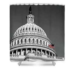 Shower Curtain featuring the photograph The Dome by John Schneider