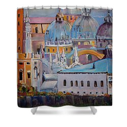 The Domes In Italy Shower Curtain