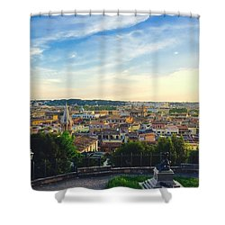 The Domes Of Rome Shower Curtain