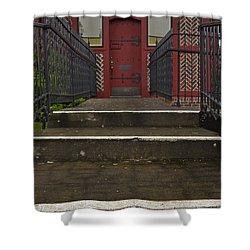 The Door Shower Curtain