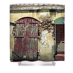 The Doors Of San Juan Shower Curtain