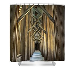 The Doorway Leading To... Shower Curtain