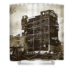 The Dorrance Breaker Wilkes Barre Pa 1983 Shower Curtain