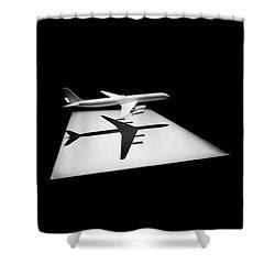 The Douglas Dc-8 Shower Curtain