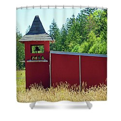 Shower Curtain featuring the photograph The Dove Loft by Tikvah's Hope