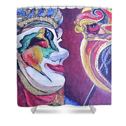 The Dr. Shower Curtain by Teresa Beyer