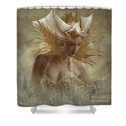 The Dragon Keeper Shower Curtain