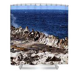 The Dragons Teeth II Shower Curtain