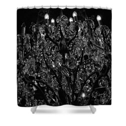 The Drake Chandelier Shower Curtain