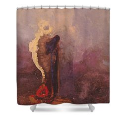 The Dream  Shower Curtain by Odilon Redon