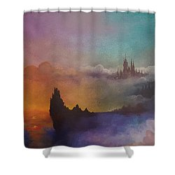 The Dreaming City Shower Curtain