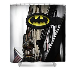The Drink Of Super Heroes Shower Curtain