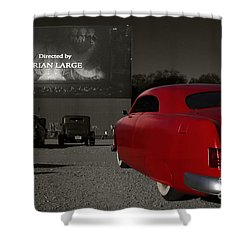 The Drive-in Shower Curtain