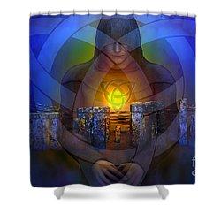 The Druid Shower Curtain