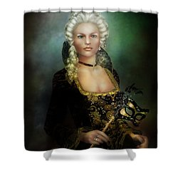 The Duchess Shower Curtain by Mary Hood