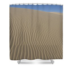 The Dune Shower Curtain by Tara Lynn