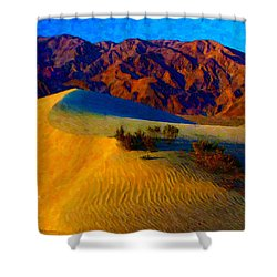 The Dunes At Dusk Shower Curtain