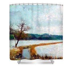 The Dyke Shower Curtain