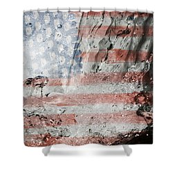 The Eagle Has Risen Shower Curtain
