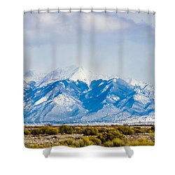 The Eagle Or Condor And Heart Shower Curtain