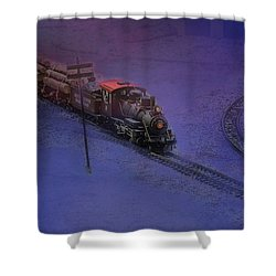 The Early Train Shower Curtain