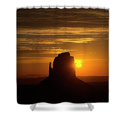 The Earth Awakes Shower Curtain