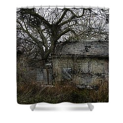 Shower Curtain featuring the photograph The Earth Reclaims by Jim Vance