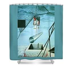 The Edge Shower Curtain