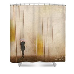 Shower Curtain featuring the photograph The Edge Of Autumn by LemonArt Photography