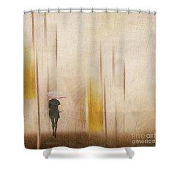 The Edge Of Autumn Shower Curtain