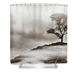 The Edge Of Never Shower Curtain