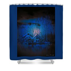 The Edge Of Night Shower Curtain
