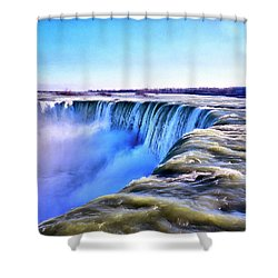 The Edge Of The World Shower Curtain