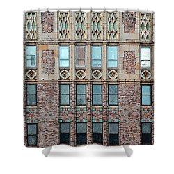 The Edifice Shower Curtain