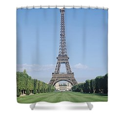 The Eiffel Tower Shower Curtain by French School